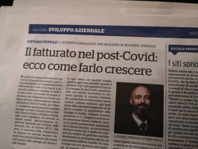 Un mio articolo su La Repubblica del 3/10/2020 (edizione Centro)